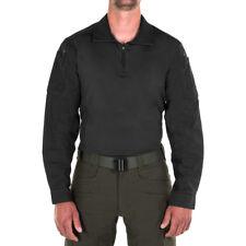 First Tactical Heren Gevecht Overhemd Leger Politie Veiligheid Patrouille Zwart