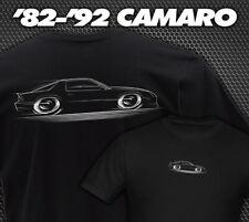 '82-'92 Camaro T-Shirt - Chevy IROC Z-28 Chevrolet 83 84 85 86 87 88 1989 90 91