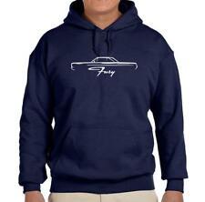 1967 1968 Plymouth Fury Hardtop Design Hoodie Sweatshirt FREE SHIP