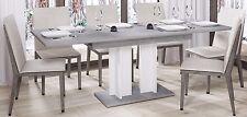 Esstisch Aurora 210 ausziehbar erweiterbar Küchentisch Säulentisch Weiss 130cm