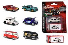 212052016 Majorette Vintage Deluxe Blister Box Cars VW Porsche Ford