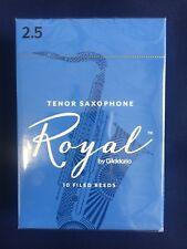 D'Addario Woodwinds Royal (Rico Royal) Tenorsaxophonblätter