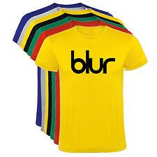 Camiseta Blur musica Hombre varias tallas y colores a078