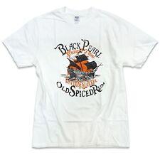 "Stampa di lunga durata ""perla nera"" Pirati dei Caraibi Ispirato T-shirt S-5XL"