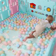 8/50Pcs Outdoors Plastic Ocean Ball Baby Kids Toy Swim Pit Pool Game 6.5cm pop