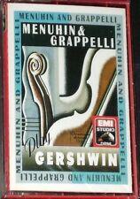 MENUHIN & GRAPPELLI PLAY GERSHWIN CASSETTE ALBUM NEW SEALED