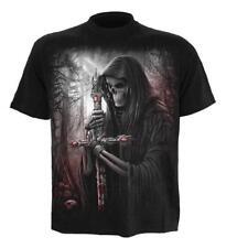 Espiral-Soul Buscador-Manga Corta Camiseta, Negro