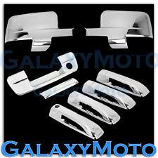 Dodge Ram 1500+2500+3500 Chrome Mirror w/Light+4 Door Handle+Tailgate w.KH Cover