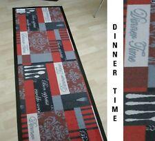 """"""" dîner de temps - Bon appétit """" 60x180 cm tapis d'entrée cuisine, bar, bar"""