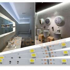 COOL WHITE LED STRIP LIGHTS 5050 LED TAPE RIBBON KITCHEN UNDER CABINET LIGHTING