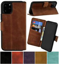 """Exclusive Leder Book Tasche Klapp Handy Tasche Bumper für iPhone 11 Pro Max 6,5"""""""