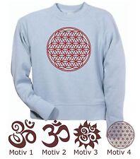 T-Shirt Impression Feuilles à Repasser Étoffe pour Om Fer Fleur de Vie Flex