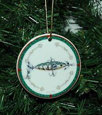 Vintage, Antique Fishing Lure Christmas Ornament