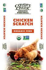 Coyote Creek Organic Feed Mill 212 Organic Chicken Scratch, 50-Lbs.