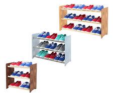 Schuhregal Schuhschrank Schuhständer Garderobe H. 45 cm HOLZ / 8 Farben   /RBS-3