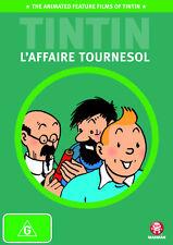 TINTIN The Calculus Affair DVD L'Affaire Tournesol animated feature flim NEW