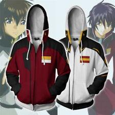 Mobile Suit Gundam NT Narrative Hoodie Cosplay Halloween Gundam Jacket Coat New