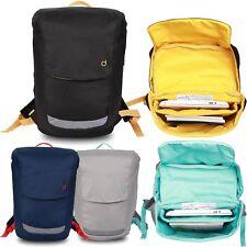 Girl Women Men Canvas Travel Backpack Satchel Rucksack Laptop School Bag Biker