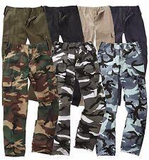 Enfants jeunes edr ranger 6-poche pantalon de combat enfants uniforme de l'armée camo cargo