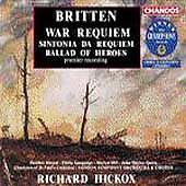 Britten: War Requiem; Sinfonia da Requiem; Ballad of Heroes, New Music