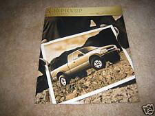 2000 Chevrolet S-10 LS pickup truck sales brochure literature dealer catalog