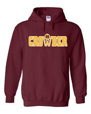 """Jae Crowder Cleveland Cavaliers """"Crowder"""" jersey shirt Hooded Sweatshirt"""
