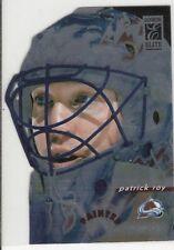 1996-97 DONRUSS ELITE DIE CUT PAINTED WARRIORS PATRICK ROY! RARE!