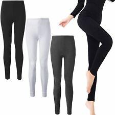 Donna intimo termico Long Johns invernali sci Leggings Pantaloni Bottoms
