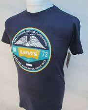 Men'S LEVI'S T-shirt a manica corta cotone blu nero verde grigio S M L nuova con etichetta