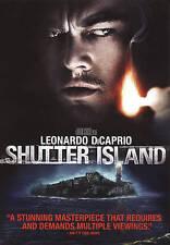 Shutter Island DVD, Mark Ruffalo, Leonardo DiCaprio,