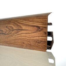 2.5m LEONARDO OAK SKIRTING BOARD & ACCESSORIES 70mm floor-wall joint cover cords