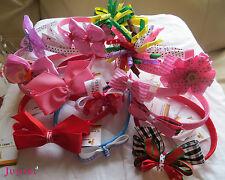 Janie Bows Headbands - School Kid Girl Head Hair Bands - Hair Accessories