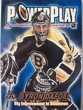 2002 ADRENELINE POWER PLAY # 4 BYRON DAFOE!!! BOX # 3