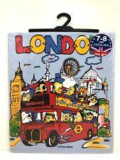 London England Print 100% Cotton Short Sleeve Casual T-Shirt
