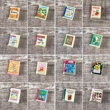 Sylvanian Families piezas de repuesto de reemplazo de biblioteca de la escuela | Libros Varios Títulos