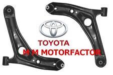 Toyota Yaris  1999-2005  1.0, 1.3 & 1.4 D 4D  & 1.5 Vvti Front Wishbone Arms x 2