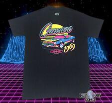 New Chevy Chevrolet Camaro 1969 Neon Classic Men's Vintage T-Shirt