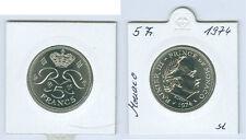 Monaco 5 francs 1974 prince rainier III. tampon brillance