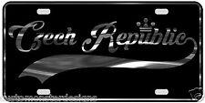 Czech Republic License Plate All Mirror Plate & Chrome and Regular Vinyl Choices