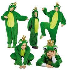 Frosch Herren König Kostüm Overall Kinder Froschkostüm Märchen Froschkönig Damen