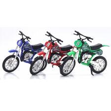 Enfants Moto Modèle Jouet Simulé Alliage Maison à Glisser Ingénierie Motocross