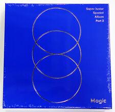 SUPER JUNIOR - MAGIC (Special Album Part.2) CD+Photo Booklet+Photocard+Poster