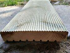 Pavimento esterno in legno mm. 28x145 antiscivolo impregnato in autoclave