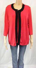 SLINKY BRAND Fashion ~ Gr. 40/42  ~ Twin-Set Jacke u. Top ~ rot ~  NEU !