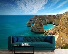 254x183cm groß Fototapete Wandtapete Schlafzimmer Marina Bezug Küste Meer