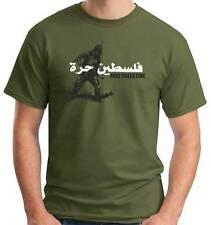 T-Shirt girocollo manica corta Politic A101 Free Palestine فلسطين حرة