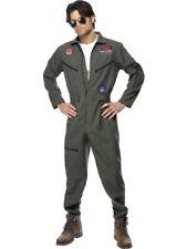 ORIGINAL TOP GUN Costume Combinaison TOPGUN uniforme pilote homme