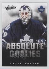 2013 Panini Boxing Day Absolute Goalies 16 Felix Potvin Toronto Maple Leafs Card