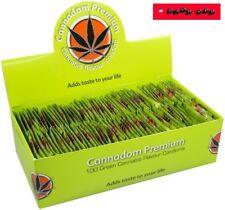 10 / 5 / 3 oder 1 Stück CANNADOM PREMIUM - Grüne Kondome mit Cannabis Geschmack
