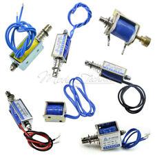 DC6V/12V/24V 10mm 5N/2N Push Pull Type Open Frame Solenoid Electromagnet Reset